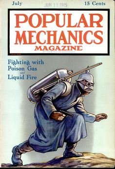Cover of the July 1915 issue of Popular Mechanics