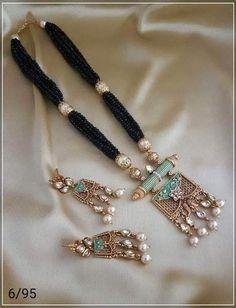Moti and Kundan Jewelry Set – FashionVibes Ball Necklace, Heart Pendant Necklace, Necklace Set, Rustic Wedding Jewelry, Bridal Jewelry Sets, Bridal Jewellery, Kundan Jewellery Set, India Jewelry, Diamond Jewellery