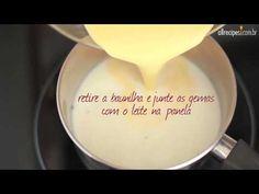 Como fazer creme de confeiteiro - YouTube