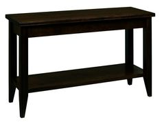 A. A. Laun Tribeca Sofa Table With Shelf 2309