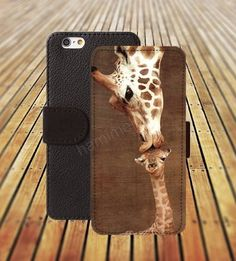 iphone 5 5s case giraffe kissing baby colorful iphone 4/4s iPhone 6 6 Plus iphone 5C Wallet Case,iPhone 5 Case,Cover,Cases colorful pattern L359