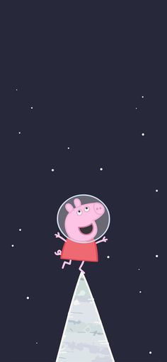 Universe of aerospace of cartoon of piggy admire strange animation Wallpapers for iPhone X, iPhone XS and iPhone XS Max - Free Wallpaper | Download Free Wallpapers