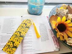 Sunflower bookmarks flower bookmarks custom bookmarks cute | Etsy