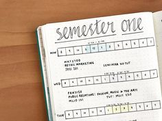 Bullet Journal For Studying