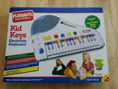 Vintage Playskool Kid Keys Electronic Keyboard PS-635 w/ box HTF in Musical Instruments & Gear | eBay