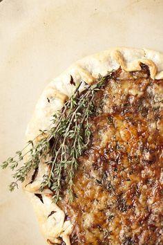 Caramelized Onion and Gruyere Tart  - Delish.com