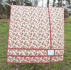 Confessions of a Fabric Addict: Can I Get A Whoop Whoop? A Quilt For The Birthday Girl...