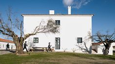 Portuguese architect Eduardo Souto de Moura has helped to revive a former farming village in the Alentejo region as a high-end hotel.
