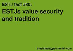 ESTJ fact #30