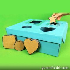 5 ideas de como hacer juegos didacticos caseros - Post Tutorial and Ideas Puzzles For Toddlers, Games For Kids, Diy Crafts For Kids, Preschool Activities, Montessori Toys, Educational Games, Baby Games, Infant Activities, Kids Education