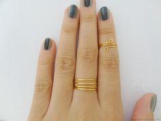 Essas Frescurites : DIY: Anéis dourados inspirados na Tufi Duek