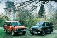 Not one - but two! By @landrovernederland #landrover #rangerover #rangeroverclassic #landroverphotoalbum