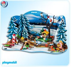 PLAYMOBIL® Advent Calendar Forest Winter Wonderland