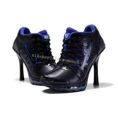 Nike Air Max High Heels For Womens in Black Blue   $346.11  $124.60  Save: 64% off