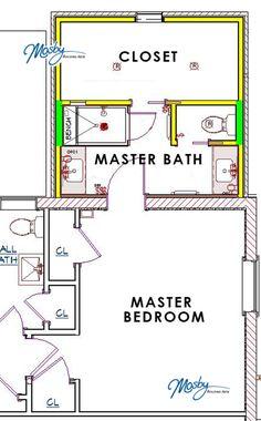 Bathroom design tips 10 39 x15 39 bathroom closet combo works - Transgender bathroom pros and cons ...