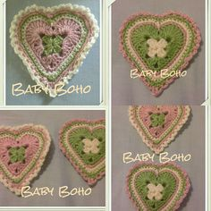 I loved making these vintage hearts