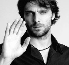 Alessandro Preziosi the star of Restless heart (a movie about the confessions of St. Augustine)