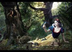 Rachel Weisz  portraying Snow White   Disney/Annie Leibovitz