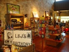 Lyndon B. Johnson State Park and Historic Site Gift Shop and Bookstore