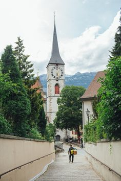 This post is about places to go in and near Chur, the oldest city in Switzerland. Chur Switzerland, Switzerland Cantons, Switzerland Cities, Switzerland Vacation, Visit Switzerland, Places To Travel, Places To Go, Countryside Fashion, Beautiful Places To Visit