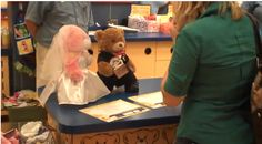 Build-A-Bear Proposal!  How cute is this! I use to work there and I love stuffed animals. :-) but of course I wouldnt want to be proposed to in the store lol