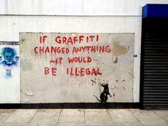 Banksy - who else?