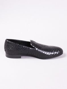 Anaconda Embroidered Slippers