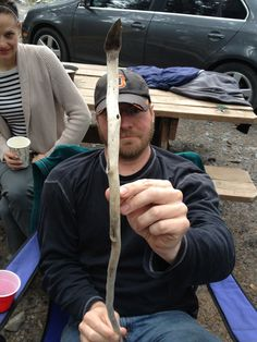 Eric with Le Genuine Alaskan Dancing Snake