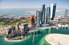 Abu Dhabi a luxuosa capital dos Emirados Árabes