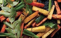 Cette recette tirée du livre Plenty... la suite de Yotam Ottolenghi donne un air de fête aux carottes rôties!