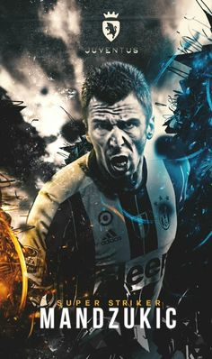Mandžukić Juventus Players, Juventus Fc, Good Soccer Players, Football Players, Mohamed Salah, Cristiano Ronaldo, Juventus Wallpapers, Neymar, Jersey Atletico Madrid