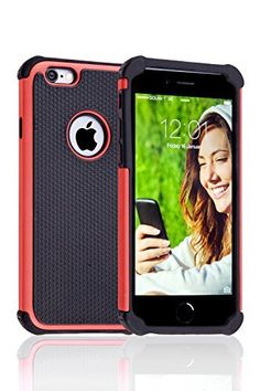 DEFENDER - Case for iPhone 6 (4.7) - 2015 NEW Designer Hard-Cover with Silicone Core for Your Apple Phone [Non-Slip][Perfect-Fit] Cases for Woman/Man, Girls + Boys - From Black to Pink - Buy the Best Protective Accessory on Sale - Life-Time Warranty , http://www.amazon.co.uk/dp/B00RZTOLT0/ref=cm_sw_r_pi_dp_F2KKwb15E5NBK