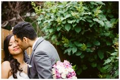 Groom kissing his bride after their wedding ceremony. To see more multicultural wedding, check out our blog: www.sujataphotography.com/blog