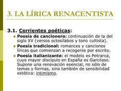 Contexto histórico y social de la poesía dentro de un movimiento literario.