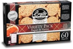 Bradley Smoker Flavour Bisquettes 5 x 12 Starter Blend Pack - Bradley Smoker available at BBQ Barbecues
