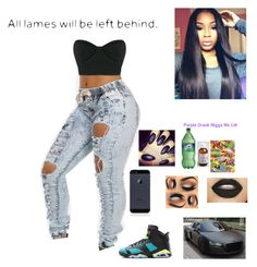 """""""Block Party"""" by mirical on Polyvore featuring Osklen and Retrò"""