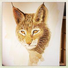 Lince Watercolors, Art, Water Colors, Paintings, Lynx, Art Background, Kunst, Watercolor Paintings, Performing Arts