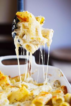 If you're ever craving the most sinful and decadent mac 'n cheese, this is the easiest three-cheese mac 'n cheese you will ever make to fill that craving!