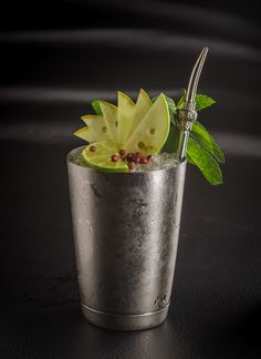 Gustu Julep: At Restaurant GUSTU, bartenders combine local spirit singani with vodka, mint and chocolate bitters, in a decidedly Bolivian variation on the Julep.