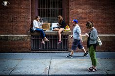 I miss the Summer streets of Soho. Alive with color, motion and vibrancy. But Summer will be here again soon.