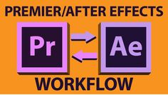 How to work from Premiere, to After Effects, or t'other way round. Someone asked me once about how do you work from Premiere to After Effects and my first an...