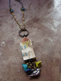Humblebeads Blog - Little Village Pendant Free Project.