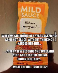 Taco Bell is so deceiving.