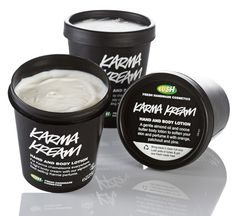 Karma Kream Body Lotion | Lush Cosmetics The best body lotion scent ever!
