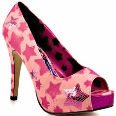 These are VERY hot...love the colour combo & sequin stars... ;-)