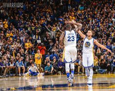 Three straight triple-doubles? High fives! #DubNation - http://gswteamstore.com/2016/01/06/three-straight-triple-doubles-high-fives-dubnation/