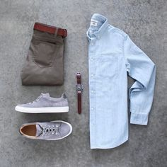 mens_fashion - 15 Casual Spring Outfits That You Can Wear Every Day trendstutor Spring Dresses Casual, Casual Outfits, Fashion Outfits, Fashion Trends, Dress Casual, Men's Spring Outfits, Fashion Clothes, Fashion Inspiration, Fashion Shirts