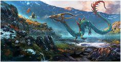 MEETING THE NOUMENON by Edvige Faini   Fantasy   2D   CGSociety