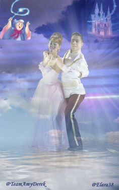 - Derek Hough Amy Purdy dance to Cinderella - Dancing With the Stars - week 5 - season 18 - spring 2014