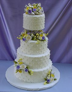 quilted pearl wedding cake www.cheesecakeetc.biz wedding cakes Charlotte NC